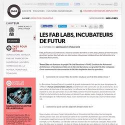 Les fab labs, incubateurs de futur