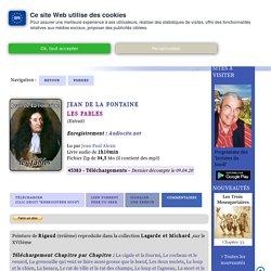 Les fables de La Fontaine (clic sur le portrait de l'auteur pour accéder au site)