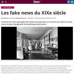 Les fake news du XIXe siècle