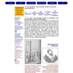 Les femmes au XIX° siècle