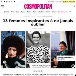 Les femmes les plus inspirantes