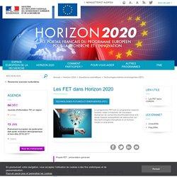Les FET dans Horizon 2020