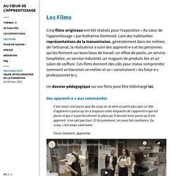Les Films - Au cœur de l'apprentissage