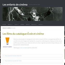Les films – Les enfants de cinéma