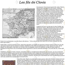 Les fils de Clovis