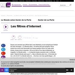 Les filtres d'internet