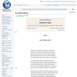 La Chevelure. Charles Baudelaire