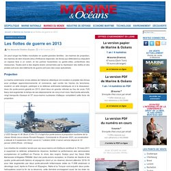Les flottes de guerre en 2013
