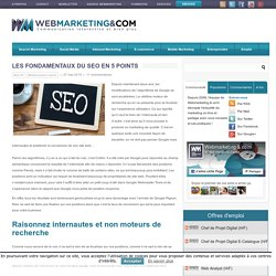 Les fondamentaux du SEO en 5 points
