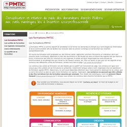 Les formations PMTIC