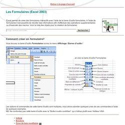 Les formulaires