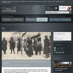 Les forums sur la Grande Guerre