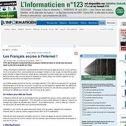Les Français accros à l'Internet !