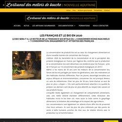 Les français et le bio en 2020 - Les artisans gourmands Nouvelle Aquitaine