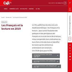 Les Français et la lecture en 2019