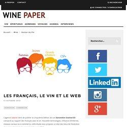 Les français, le vin et le web