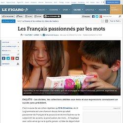 Les Français passionnés par les mots