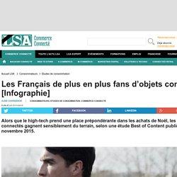 Les Français de plus en plus fans d'objets...