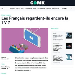 Les Français regardent-ils encore la TV