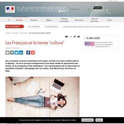 """Les Français et le terme """"culture"""""""