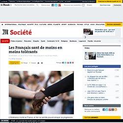 Les Français sont de moins en moins tolérants