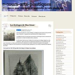 Les frottages de Max Ernst – e-cours-arts-plastiques