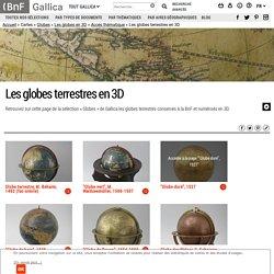 Les globes terrestres en 3D