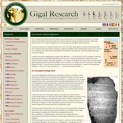Les Grands Ancêtres Egyptiens