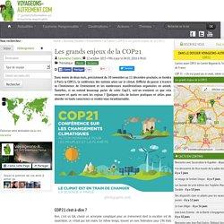 Les grands enjeux de la COP21