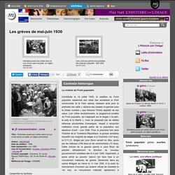 Les grèves de mai-juin 1936