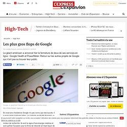 Les plus gros flops de Google