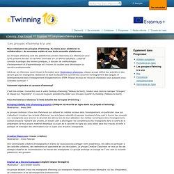 Les groupes eTwinning à la une
