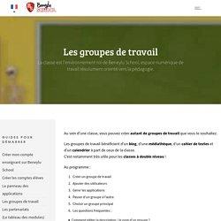 Les groupes de travail -