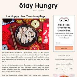 Les Happy New Year dumplings