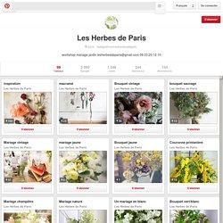 Les Herbes de Paris sur Pinterest