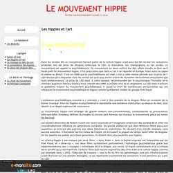 Les hippies et l'art - Le mouvement hippie