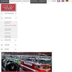 Les quais de l'histoire – Cité du train