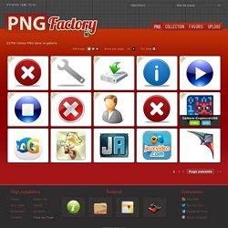 Les icônes PNG