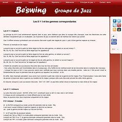 L'orchestre Be'swing, styles et principes harmoniques du jazz.url