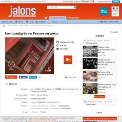 Les immigrés en France en 2005