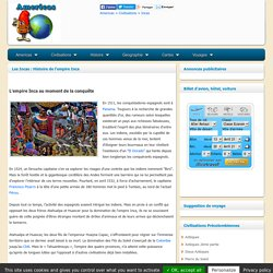 Incas - Americas - Civilisations Precolombiennes