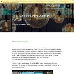 Les interfaces web du futur - Kryzalid