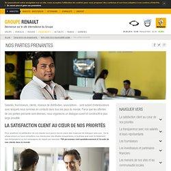 Les parties prenantes de Renault