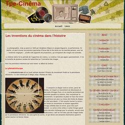 Les inventions du cinéma dans l'histoire