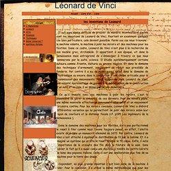 les inventions de Leonard - Léonard de Vinci