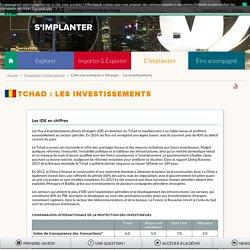 Les investissements au Tchad