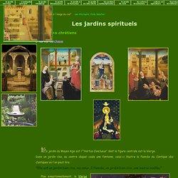 Les jardins sprituels du Moyen Age
