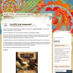 Les JCE, test comparatif