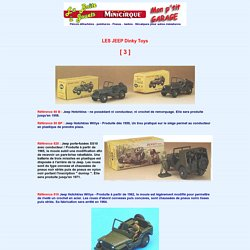 Les Jeep Dinky Toys