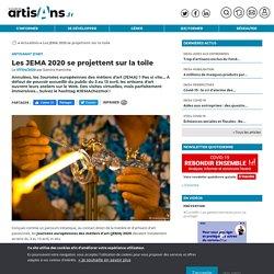 Métiers d'art : Les JEMA 2020 se projettent sur la toile